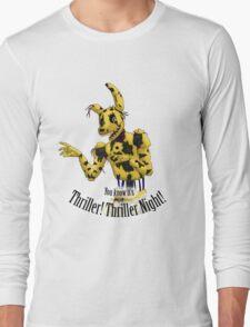 Springtrap - Thriller FNaF 3  Long Sleeve T-Shirt