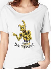 Springtrap - Thriller FNaF 3  Women's Relaxed Fit T-Shirt