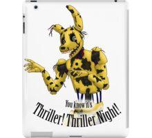 Springtrap - Thriller FNaF 3  iPad Case/Skin