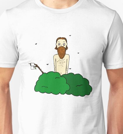 Peeing in the woods Unisex T-Shirt