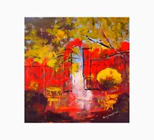 The Stables at Malmsbury VIC Australia  (oil on canvas 45 x 45 cm) Unisex T-Shirt