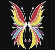 Rainbow Wings Kids Clothes