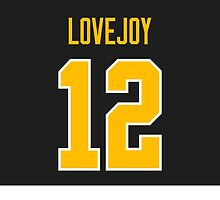 Pittsburgh Penguins Ben Lovejoy Jersey Back Phone Case by Russ Jericho