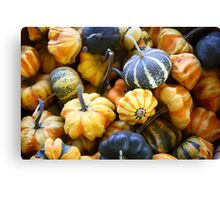Fall Vegetables Canvas Print