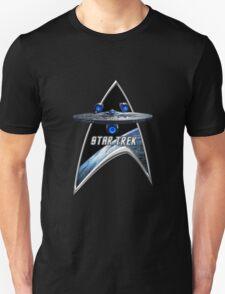 StarTrek Command Silver Signia Enterprise JJA01 Unisex T-Shirt