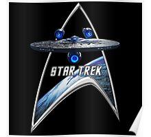 StarTrek Command Silver Signia Enterprise JJA01 Poster