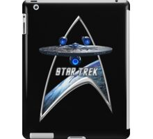 StarTrek Command Silver Signia Enterprise JJA01 iPad Case/Skin