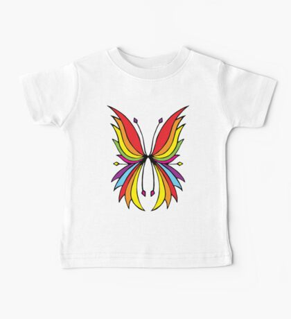 Rainbow Wings Black Kids Clothes