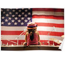 Born Free - Celebrating the 4th of July Poster