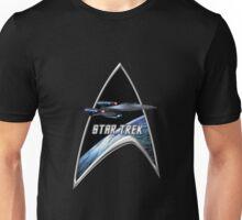 StarTrek Command Silver Signia Enterprise Galaxy Class Dreadnought Unisex T-Shirt