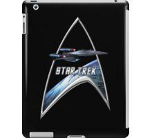 StarTrek Command Silver Signia Enterprise Galaxy Class Dreadnought iPad Case/Skin