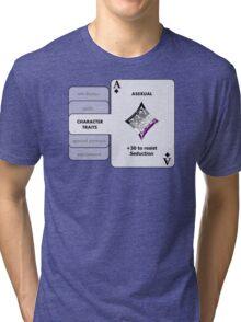 Asexual Character Bonus (Diamond Symbol) Tri-blend T-Shirt