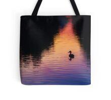 Bates Sunset Duck - 85731 Tote Bag