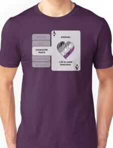 Asexual Character Bonus (Heart Symbol) Unisex T-Shirt