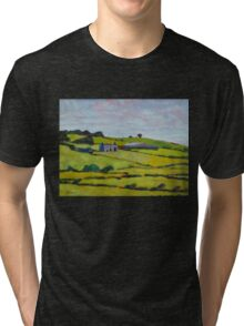 Ruined House, Ireland Tri-blend T-Shirt