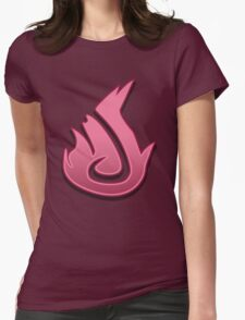 Guild Wars 2 Inspired Elementalist logo Womens Fitted T-Shirt