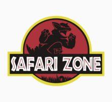 Safari Zone X Jurassic Park Baby Tee