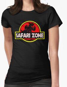 Safari Zone X Jurassic Park Womens Fitted T-Shirt