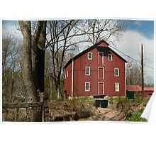 Henry Steiners Grist and Saw Mill  Poster