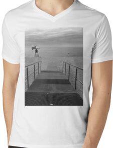 Enter Lloret Beach Mens V-Neck T-Shirt