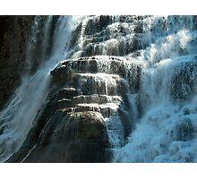 Close Up, Ithaca Falls Photographic Print