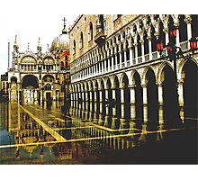 PALACE REFLECTED  Photographic Print
