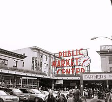 Pike Place Market by Jacob Meyer