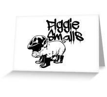 Piggie Smalls Greeting Card
