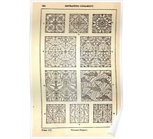 A Handbook Of Ornament With Three Hundred Plates Franz Sales Meyer 1896 0308 Repeating Ornament Various Diaper Poster