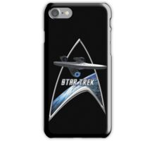 StarTrek Command Silver Signia Enterprise 2009 iPhone Case/Skin