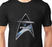 StarTrek Command Silver Signia Enterprise 2009 Unisex T-Shirt