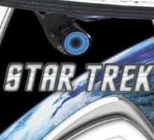 StarTrek Command Silver Signia Enterprise 2009 Sticker