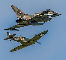 Typhoon & Spitfire Synchro 2015 by David Charlton