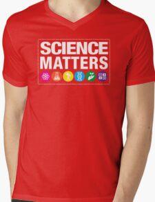 Science Matters Mens V-Neck T-Shirt