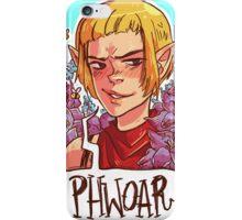 PHWOAR iPhone Case/Skin