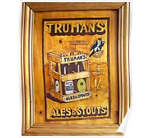 Truman's Ales and Stouts Poster