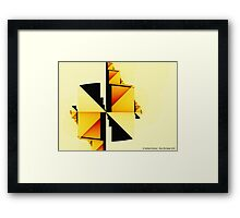 Simple Complexity Framed Print