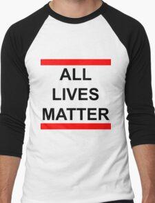 All Lives Matter Men's Baseball ¾ T-Shirt