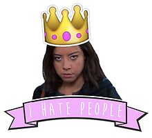 I Hate People - April Parks and Rec by racheladditon