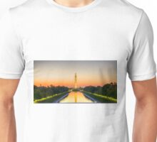 Photo Washington Monument Sunrise Unisex T-Shirt