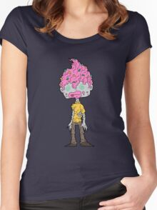 cupcake zombies 1... Women's Fitted Scoop T-Shirt