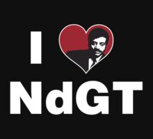 I Heart Neil deGrasse Tyson Kids Clothes