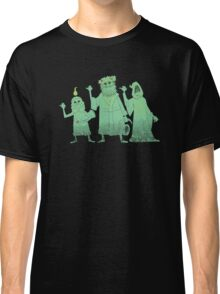 Hitch-hiking Christmas Ghosts Classic T-Shirt