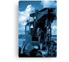 train cranes 2 Canvas Print