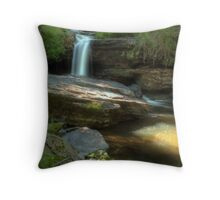Ricochet Falls (wide angle) Throw Pillow