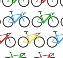 Road Bike Pattern Sticker
