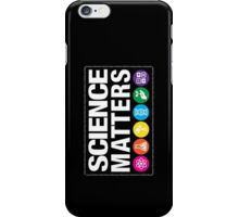 Science Matters iPhone Case/Skin