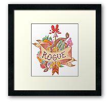 ROGUE CLASS Framed Print