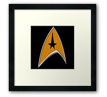 StarTrek Command Signia Chest Framed Print