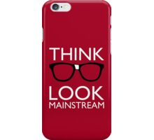 Think NERD Look MAINSTREAM iPhone Case/Skin